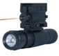 NC Star Tactical Rail Flashlight & Laser Combo A3FLS