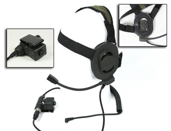 Bravo Tactical Radio Headset BM -For Motorola One Pin Radios