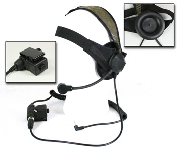 Bravo Tactical Radio Headset SEL -For Motorola One Pin Radios