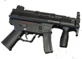 Well G55 MP5k GBB Airsoft