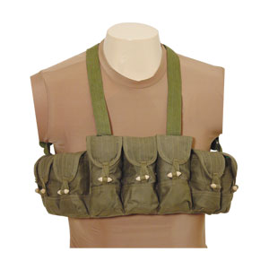 Chinese AK-47 Chest Rig Harness-9 Pouch