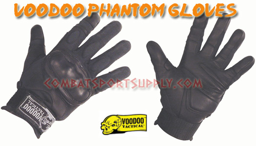 VooDoo Tactical Phantom Gloves w/ Knuckle Armor