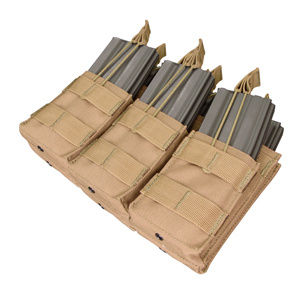 Condor Outdoor Molle Triple M4 Stacker Mag Pouch MA44