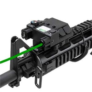 NcSTAR VISM Green Laser & 4 Color NAV LED w/ QR Mount