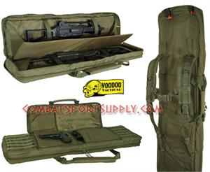 Voodoo Tactical Padded four Weapons Gun Case 42""