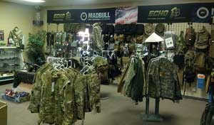 Combat Sport Supply Retail Store
